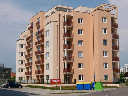 2 izb. byt na 5 posch. v Seredi